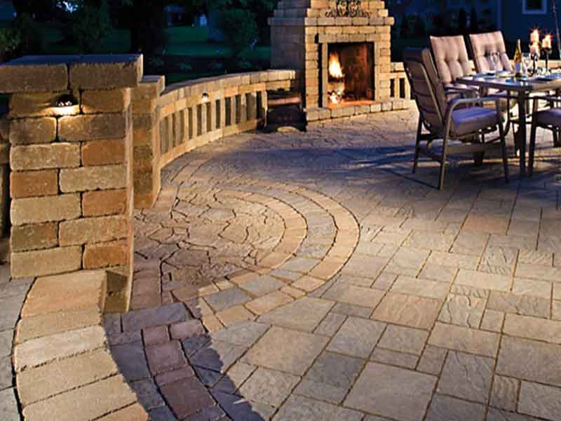 Stamped Concrete Hardscaping Ideas